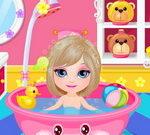 Baby Barbie Shower Fun