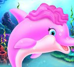 Cute Dolpfin Caring And Dressup