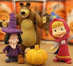 Masha And The Bear Halloween Party