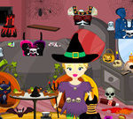 Princess Halloween Room Cleaning