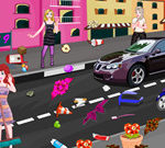 Princesses New Year City Cleaning
