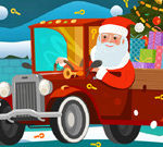 Santa Hidden Car Keys