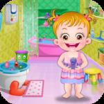 Baby Hazel Bathroom Hygiene