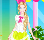Barbie Florist Dress Up