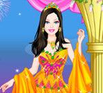 Barbie Homecoming Princess Dress Up