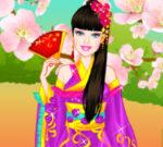 Barbie Japanese Princess Dress Up
