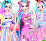 Disney Princesses Unicorn Style