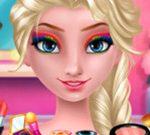 Elsa's Rainbow Style 1 Eye Makeup