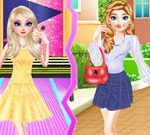 Frozen Sisters Street Style Vs Stage Style