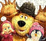 Jigsaw Masha And Bear