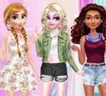 Princess Different Style Fashion