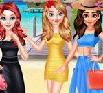 Princesses Summer Long Skirts